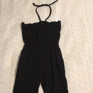 Black jumpsuit, girls size 6